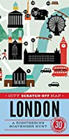City Scratch-Off Map: London: A Sightseeing Scavenger Hunt (City Scratch-off Maps)