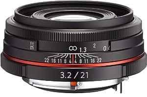 PENTAX リミテッドレンズ 薄型広角単焦点レンズ HD PENTAX-DA21mmF3.2AL Limited ブラック Kマウント APS-Cサイズ 21410