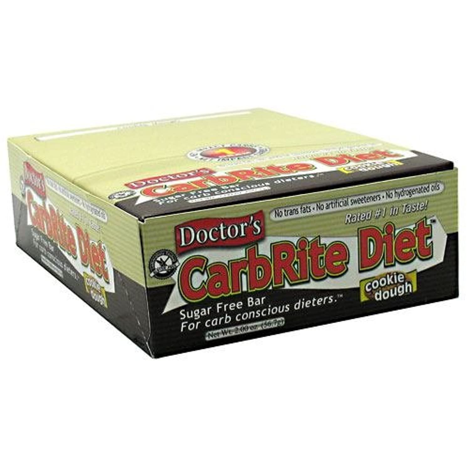 自伝女将議題Universal Nutrition, Doctor's CarbRite Diet, Chocolate Caramel Nut, 12 Bars, 2.0 oz (56.7 g) Each