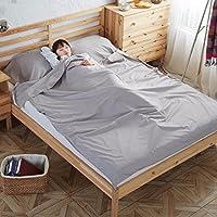 寝袋 旅行 ホテル用 大人 アウトドア コットン 超軽量 ベッドシーツ シュラフ