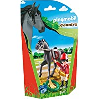 Playmobil 9261 Jockey avec cheval de course