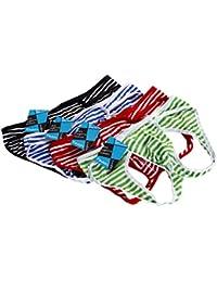 メンズTバック下着GストリングオープンバックストライプUnderpants Jockstrapパックof 4pcs