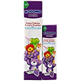 Kodomo Children Toothpaste, 80g + 20g, Grape