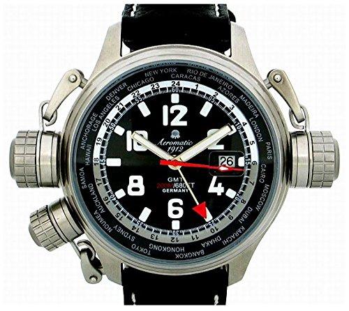 [エアロマチック]Aeromatic ドイツ製 U-BootシリーズGMT 200m防水 A1300 メンズ 腕時計 [並行輸入品]