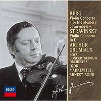 ベルク&ストラヴィンスキー:ヴァイオリン協奏曲