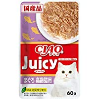 チャオ Juicy 高齢猫用 まぐろ 60g×16コ