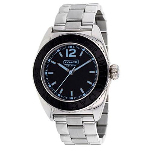 COACH コーチ 腕時計 ビッグリューズ ブレス レディースウォッチ 14501378 ブラック[並行輸入品]