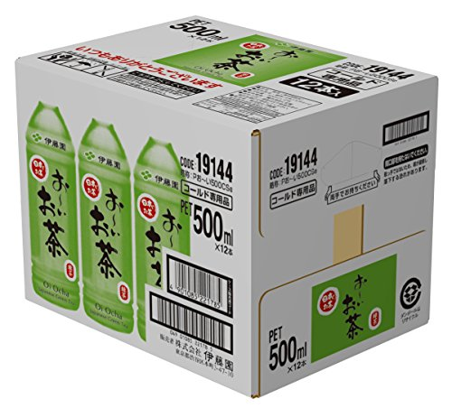 おーいお茶 緑茶 ペット 500mlx12本