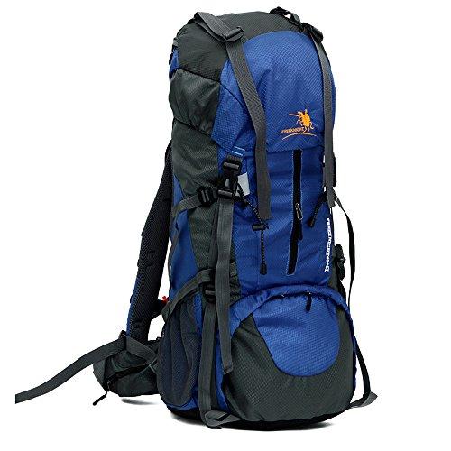 LITTHING 登山リュック防水大容量旅行用70L耐久性リュックサックバックパックキャンプ ハイキングクライミングアウトドアバッグ