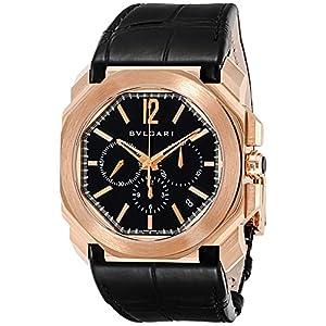[ブルガリ]BVLGARI 腕時計 オクト ブラック文字盤 BGOP41BGLDCH メンズ 【並行輸入品】