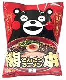 木村 熊本とんこつラーメン(くまモン) 5食(91g×5袋)