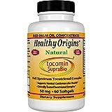 海外直送品 Healthy Origins Tocomin SupraBio, 60 soft gels 50 mg