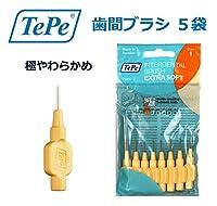 テペ 歯間ブラシ 極やわらかめ(エクストラソフト) 0.45mm 5袋