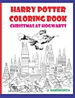 Harry Potter Coloring Book: Christmas At Hogwarts