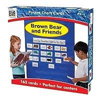 ブラウンBear & FriendsポケットチャートGR pk-1by carson-dellosa