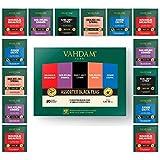Vahdam, Black Tea Sampler, 5 Teas - Tea Variety Pack | Assorted Black Tea Bags | English Breakfast, Darjeeling, Assam, Earl Grey Tea Bags | 20 Count | Finest Tea Gift Set & Tea Gift For Tea Lovers