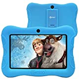 """Contixo V8-3 7"""" Android 16GB Kids Tablet Parental Control 20+ Learning Education Apps Toy Tablets for Kids Pre-Installed Looney Tunes Content with WiFi Camera Games for Child Best Gift(Light Blue)"""