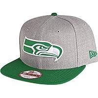 ニューエラ (New Era) 9フィフティ スナップバック キャップ - シアトル?シーホークス (Seattle Seahawks) グレー /