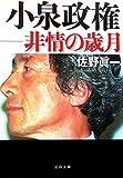 小泉政権—非情の歳月 (文春文庫)