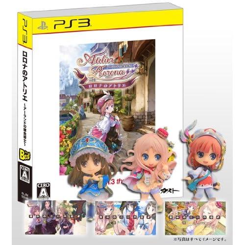 【Amazon.co.jp限定】ロロナのアトリエ PS3 the Best (オリジナルカスタムテーマ3種DLシリアル同梱)+メルルのアトリエ プレミアムフィギュアBOX