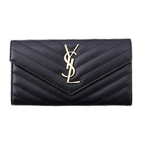 (イブサンローラン) YVES SAINT LAURENT SaintLaurent レディース レザー 長財布[並行輸入品]