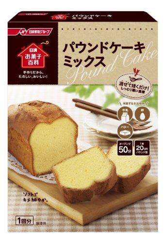 日清お菓子百科 パウンドケーキミックス 240g×6個