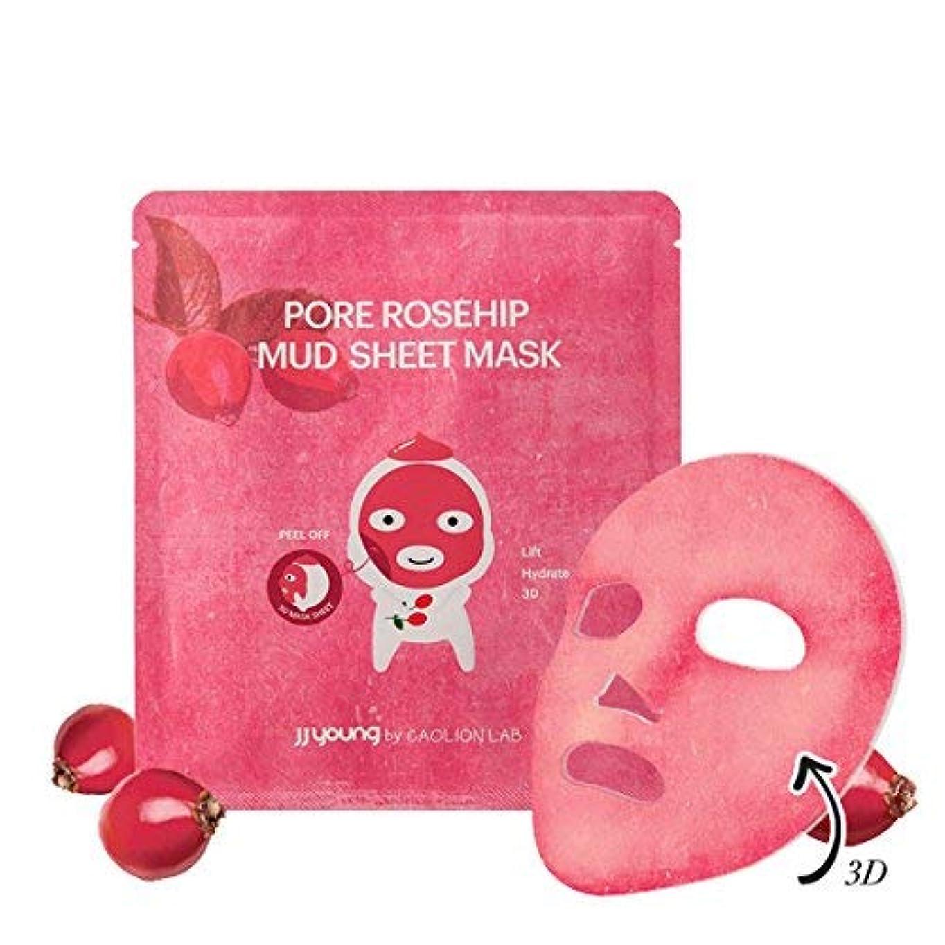 伴う精度望ましいPore Rosehip Mud Sheet Mask ポアローズヒップマッドシートマスク [海外直送品] [並行輸入品]