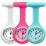 Groupcow 3pcs Silicone Nurses Watch (Practical Colour)