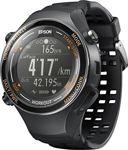 [エプソン リスタブルジーピーエス]EPSON Wristable GPS 腕時計 ランニングウォッチ GPS機能 脈拍計測 SF-850PJ