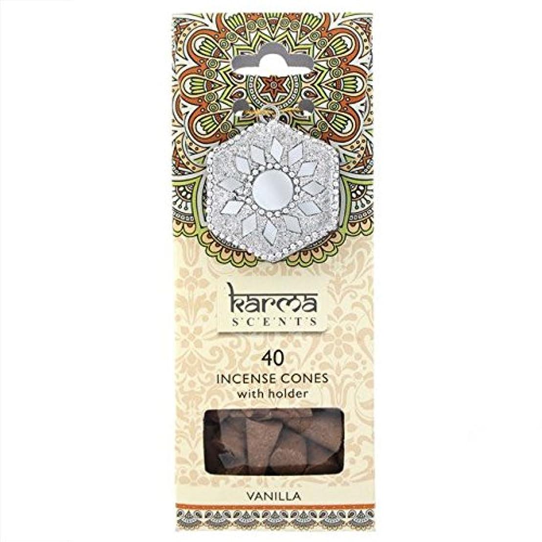 億生態学猫背Karma Vanilla Incense Cones Gift Set