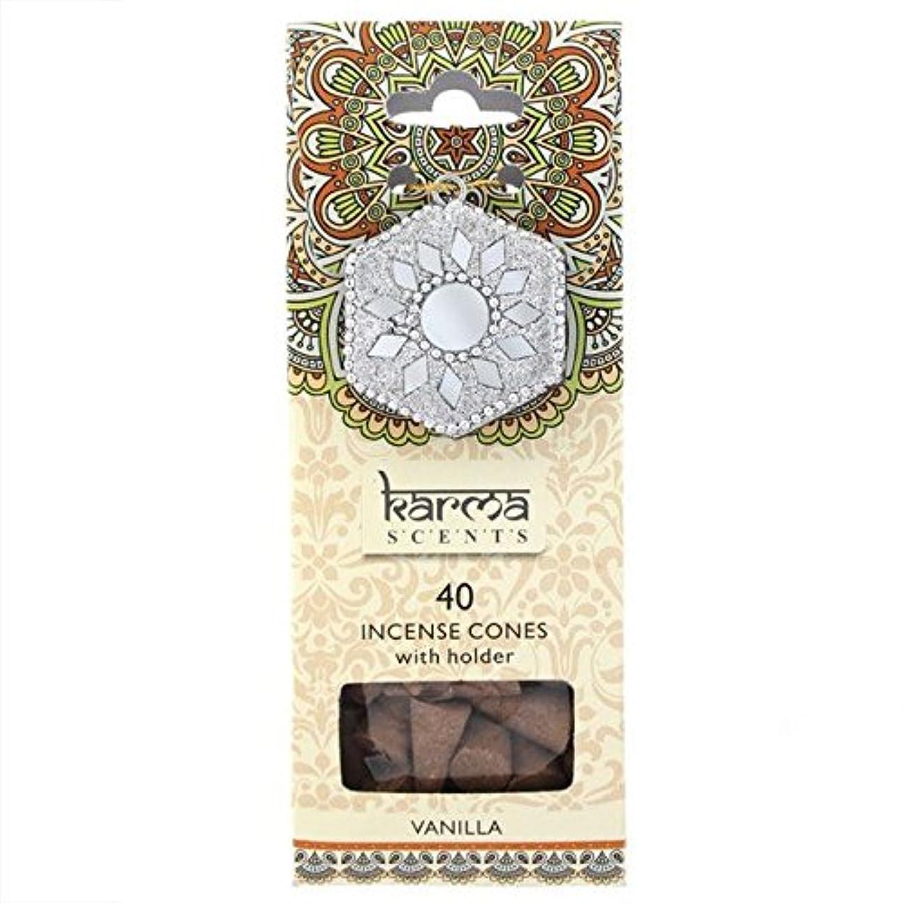 調停者チロ明確にKarma Vanilla Incense Cones Gift Set