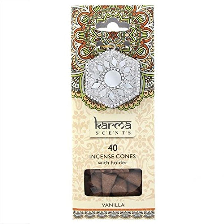 ブレスフレッシュ工場Karma Vanilla Incense Cones Gift Set