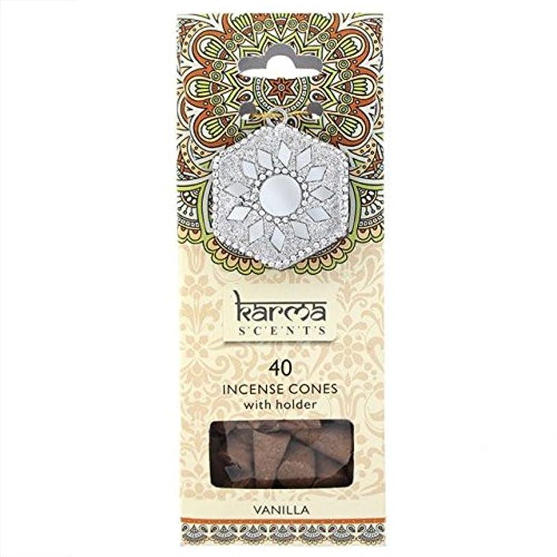 アルカイック電圧パールKarma Vanilla Incense Cones Gift Set