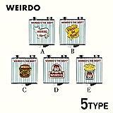 ウィアード ピンズ WEIRDO WINDY'S - PINS GLADHAND/グラッドハンド/GANGSTERVILLE/ギャングスタービル/OLD CROW/オールドクロウ(FREE B)