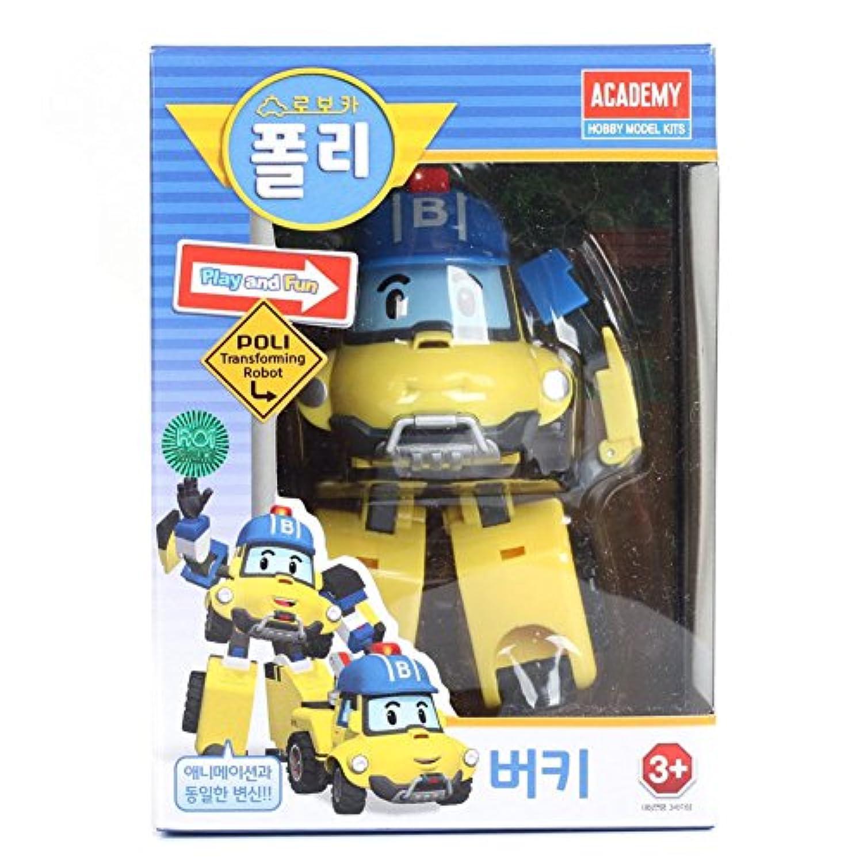 Robocar Poli(ロボカーポリー)新キャラクター 変身ロボット 山岳救助隊 バキー [並行輸入品]