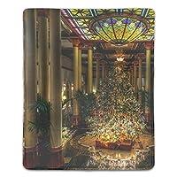 マウスパッド ゲーミングマウスパッド 滑り止め 18X22 厚い 耐久性に優れ 木大クリスマス おしゃれ