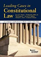 Leading Cases in Constitutional Law A Compact Casebook for a Short Course (American Casebook Series) [並行輸入品]