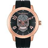 [テンデンス]TENDENCE 腕時計 DOME(ドーム) TY013504 ユニセックス ブラック [正規輸入品] 200本限定