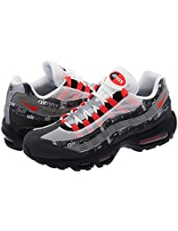 [ナイキ] AIR MAX 95 PRINT BLACK/BRIGHT CRIMSON/MEDIUM ASH 【atmos】 【WE LOVE 【26.0cm~29.0cm】 [並行輸入品]