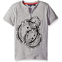 Guess Boys L72I05K5JV0 Short Sleeve Circle T-Shirt Short_Sleeve T-Shirt - Multi