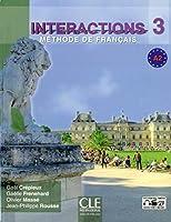 Interactions: Livre + DVD-Rom A2