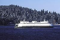 ワシントン状態Ferry Sealth # 331-goodallクリスマスカード
