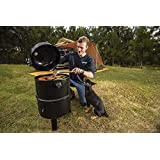 New Kings Portable Meat Smoker BBQ Cooking Outdoor Smoking Roasting Steaming