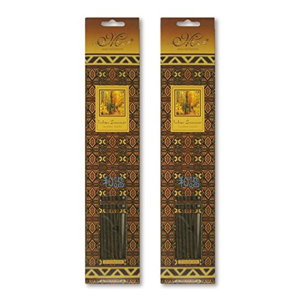 国際者視力MISTICKS ミスティックス Indian Summer インディアンサマー お香 20本 X 2パック (40本)