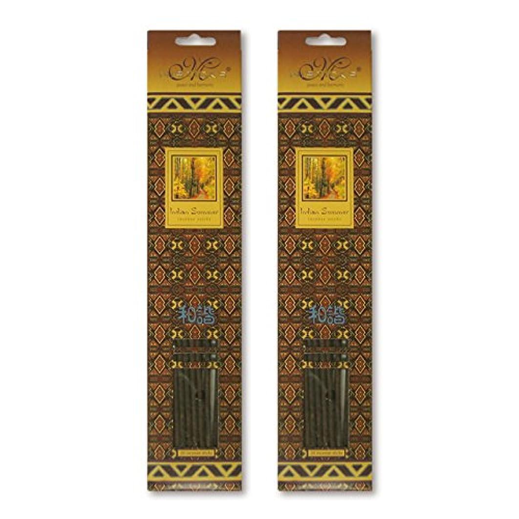 倉庫ピジンスポットMISTICKS ミスティックス Indian Summer インディアンサマー お香 20本 X 2パック (40本)