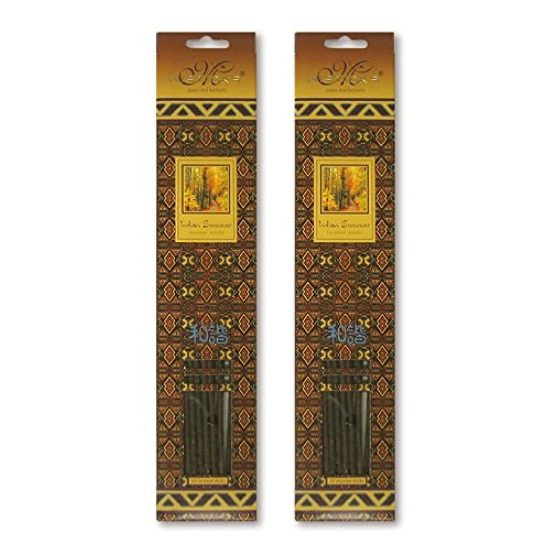事実上折る溶かすMISTICKS ミスティックス Indian Summer インディアンサマー お香 20本 X 2パック (40本)