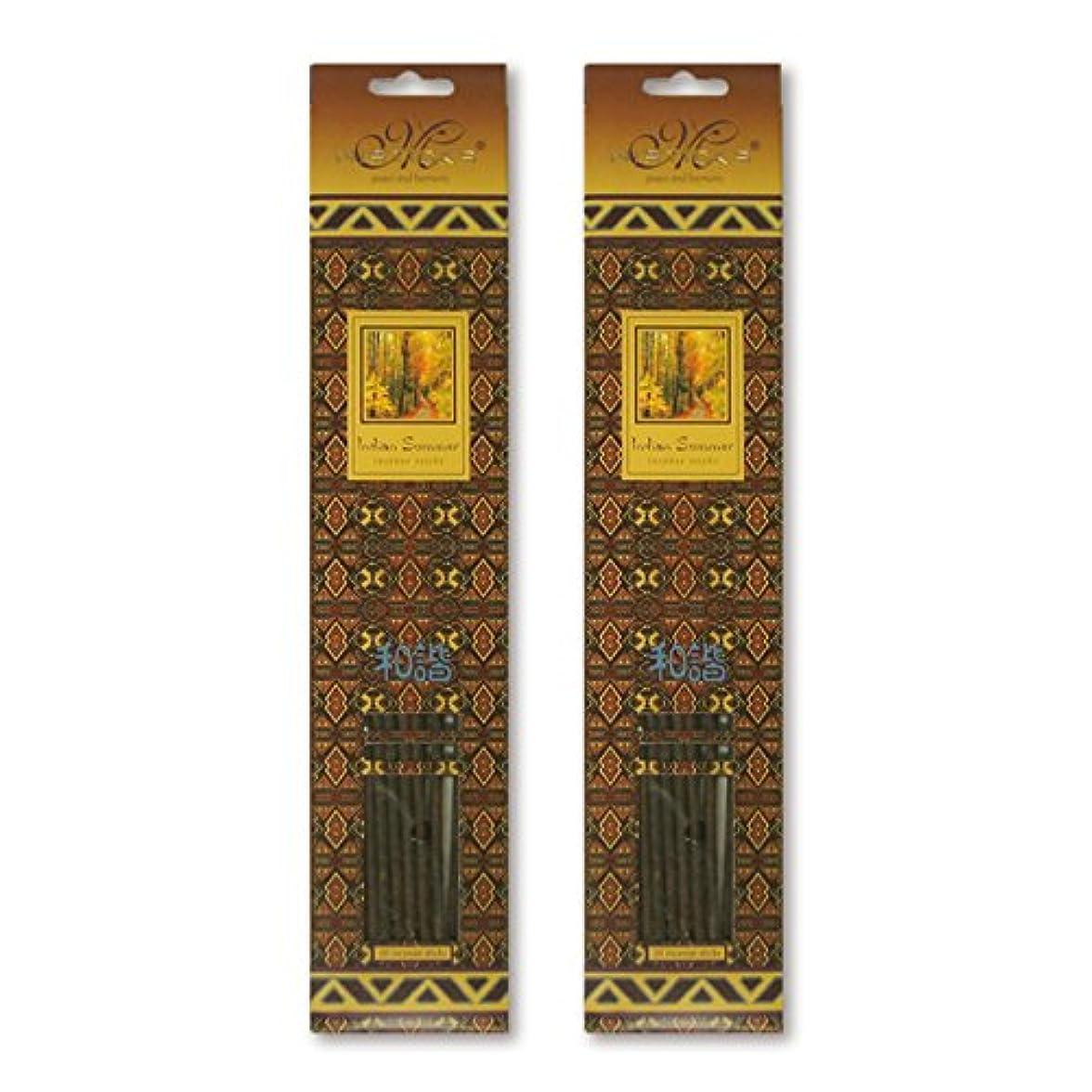 一目是正たとえMISTICKS ミスティックス Indian Summer インディアンサマー お香 20本 X 2パック (40本)