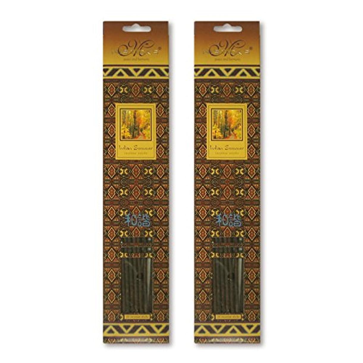 手つかずのそしてブルジョンMISTICKS ミスティックス Indian Summer インディアンサマー お香 20本 X 2パック (40本)