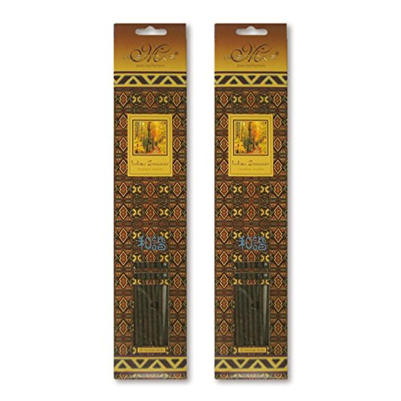 に向かって暖かさ欺MISTICKS ミスティックス Indian Summer インディアンサマー お香 20本 X 2パック (40本)