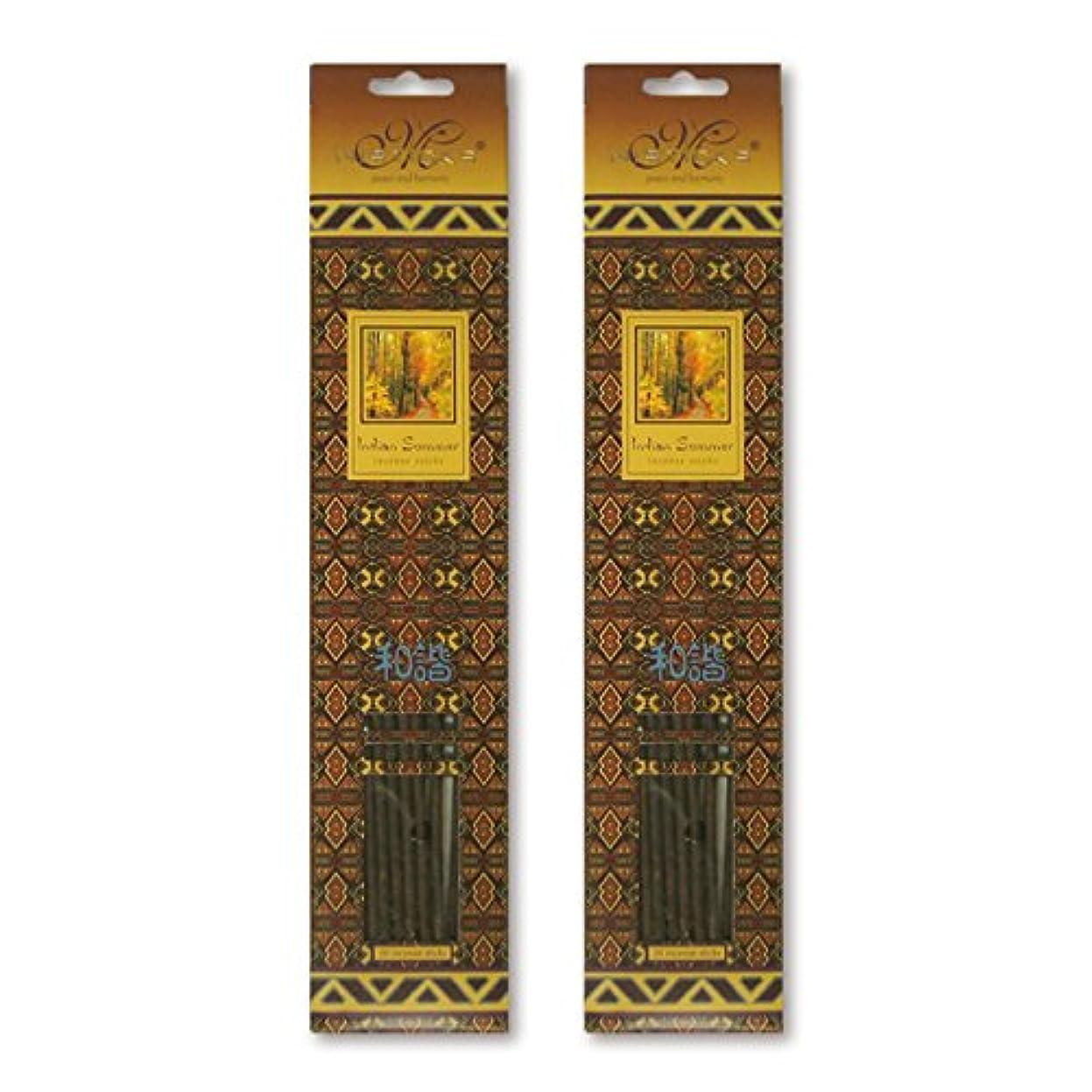 パシフィックセンターボアMISTICKS ミスティックス Indian Summer インディアンサマー お香 20本 X 2パック (40本)